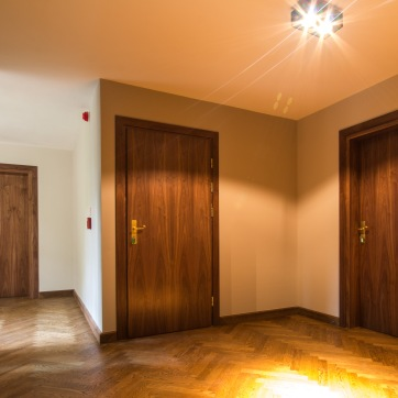 Drzwi EI30, orzech