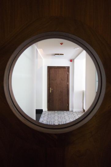 Drzwi z bulajem